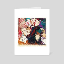 the cursed - Art Card by kill ۵