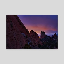 Garden of the Gods - Canvas by Ben Kelsey