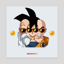 """Dragon Ball Z"""" Culture 3"""" - Canvas by Joey Sifuentes"""