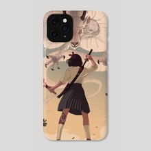 The challenge - Phone Case by Mona Finden