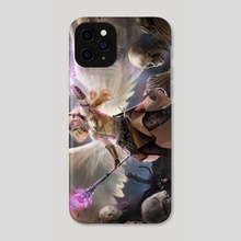 Cleansing of the Undead - Phone Case by Vanette Kosman