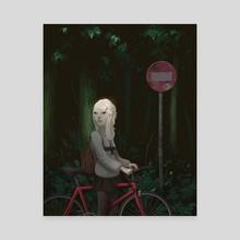 Following - Canvas by Zach Montoya