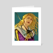 Tridentarius - Art Card by Marina Vermilion
