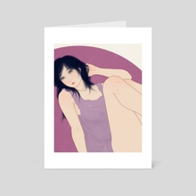 Rina - Art Card by Sai Tamiya