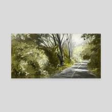 California Road  - Canvas by Allison Gloe