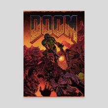 Doom - Canvas by Nikita Basarev