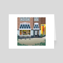 Bagels and Beans - The Hague,The Netherlands - Art Card by Madalina Baghiceanu