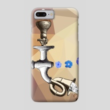 THE THEORY OF EVOLUTION - Phone Case by Gloria Sánchez