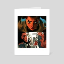 Knives Out (1/2) - Art Card by S