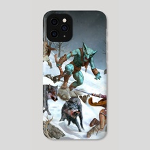 Menace in Raven-reach  - Phone Case by Josh Stewart
