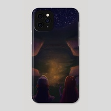 Gravity Falls Night - Phone Case by Kaitlyn
