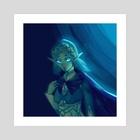 Blue Zelda - Art Print by Star Flower