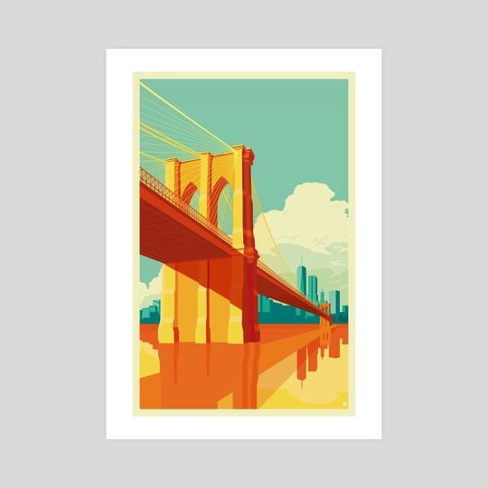 Brooklyn Bridge NYC by Remko Gap Heemskerk