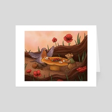 Robin's Return - Art Card by Shannon Szczepanski