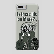 is there life on mars? - Phone Case by Laura Chiarella