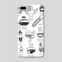 Alchemist - Phone Case by Indré Bankauskaité