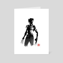 wolverine 02 - Art Card by philippe imbert
