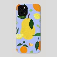Peel Good - Phone Case by wenli liu