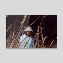 Field - Acrylic by Rebecca Weaver