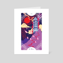 XVI - The Tower - Art Card by Trungles