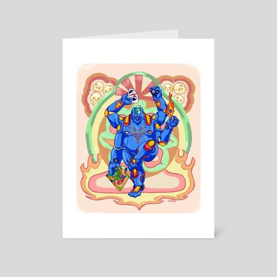 Hot Rod Buddha by Ramsey Sibaja (Raz)