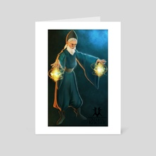 Wizard - Art Card by Maria Kercher