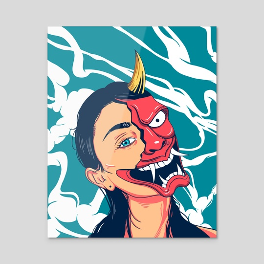 Hannya Mask by Akash T.A