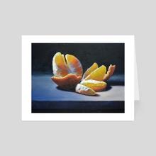 Orange Slices - Art Card by Armand Cabrera