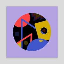 Circus - Canvas by Valentin Girard