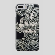 Sophisticated Rino - Phone Case by Josh Smith