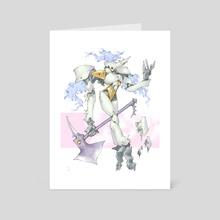 Warrior's Spirit - Art Card by Mony Pich