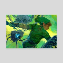 Fairy Boy - Legend of Zelda - Canvas by Andrew Theophilopoulos
