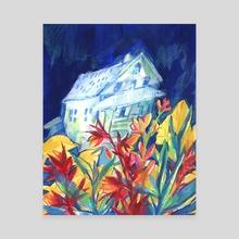 Cornell Farm - Canvas by Echo Chambers