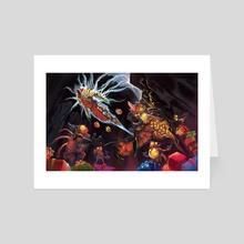 Tyrael's gift - Art Card by wu licheng