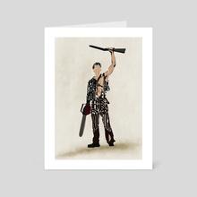 Ashy Slashy - Art Card by Deniz Akerman