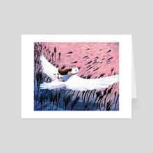 Guiding Gale - Art Card by Matt Chinworth