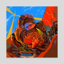 jesse - Canvas by Jaden Kristoffersson