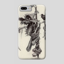 Scarecrow - Phone Case by Charles Lister