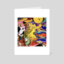 Fleeting Happiness - Art Card by Yin Lu