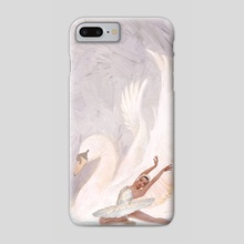 Swan Lake - Phone Case by Mark Molchan