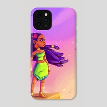 Sunrise - Phone Case by JeffRey  Onyango