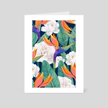 Just Another Day in Paradise - Art Card by 83 Oranges