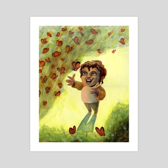 Butterfly Glee by Stephanie Gobby