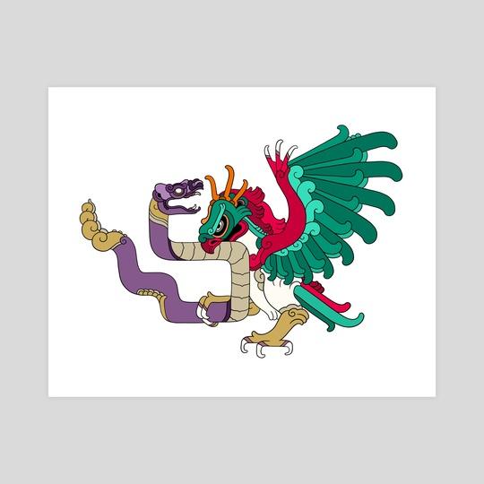 Pokemayan flag by Monarobot