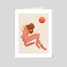Phoenix Down - Art Card by Jonny Warren