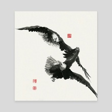 Eagle - 58 - Canvas by River Han
