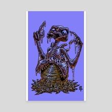 Eggstraterrestrial - Canvas by bud coy