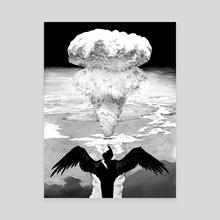 Death - Canvas by Nic Lim