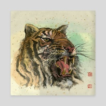 Tiger - 45 - Canvas by River Han