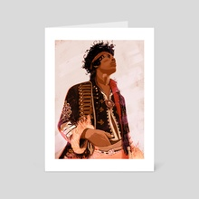 Jimi Fire 2 - Art Card by Stephan Parylak
